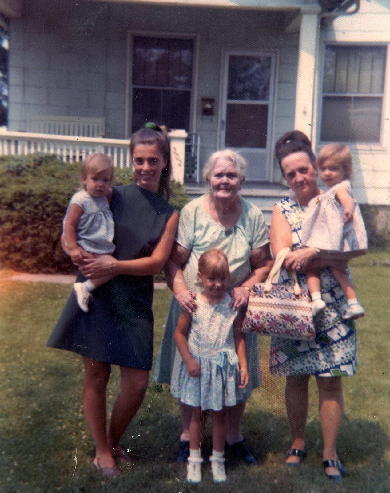 aunt g 3 generations
