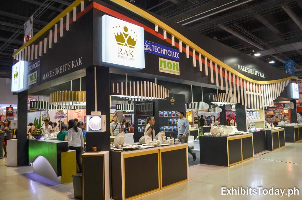 RAK Ceramics Trade Show Display