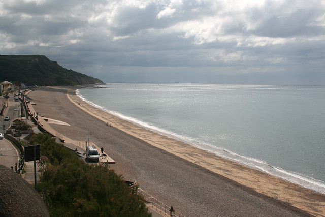 The beach at Seaton