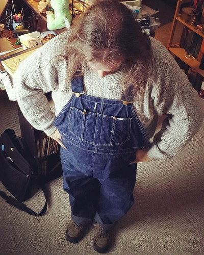 New overalls V: Head to toe! #overalls #vintage #Lee #bluedenim #dungarees #denim #rawdenim