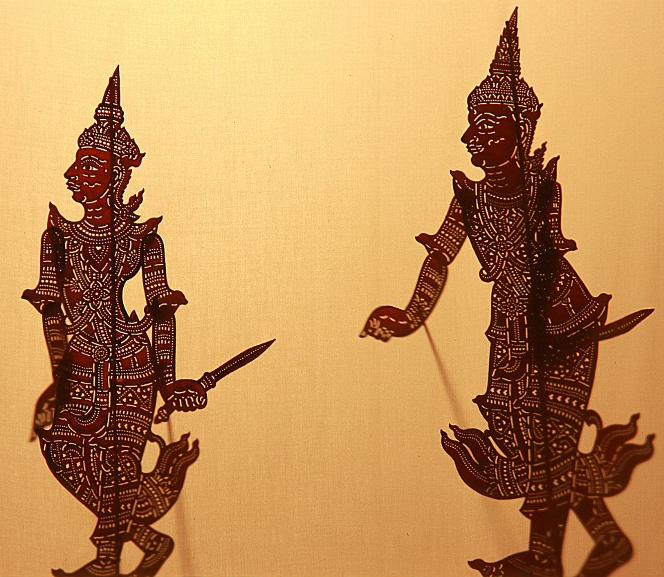 Khmer shadow puppet show is a much watch in Cambodia