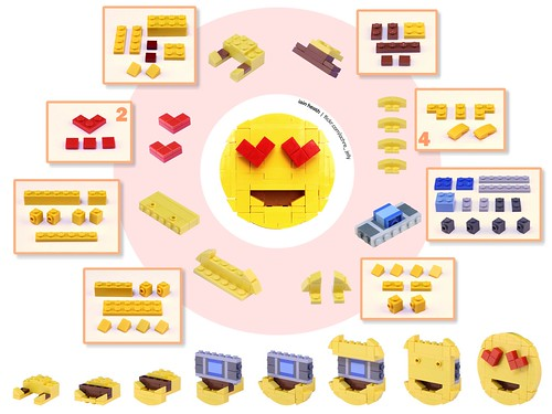 Building guide: Emoji with heart eyes