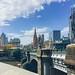 Hazy days of summer in Melbourne
