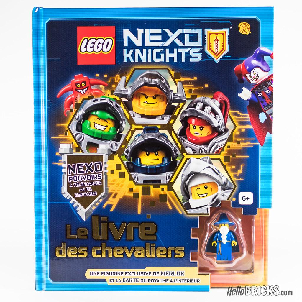 Lego Nexo Knights Le Livre Des Chevaliers Exclusive Merlo