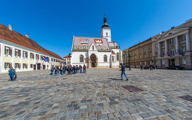 Zagreb (20) - St. Mark's Square