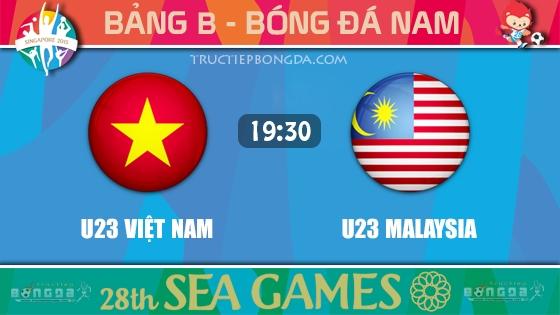U23 Việt Nam vs U23 Malaysia