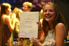 Diploma-uitreiking Nina