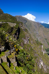 Back of Machu Picchu