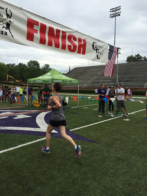 Red, White and Blue Shoes 5k 2015