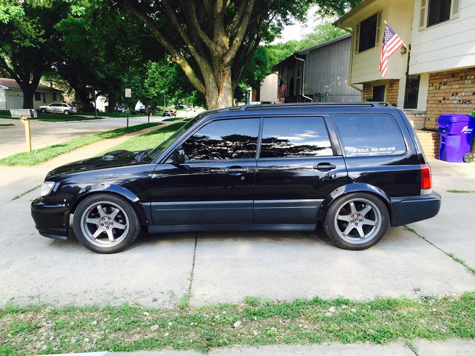 fs coolest forester in omaha 1998 with wrx swap. Black Bedroom Furniture Sets. Home Design Ideas