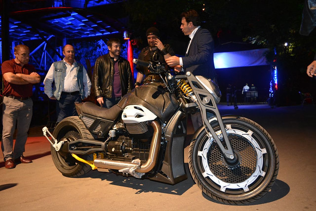 Закрытая презентация мотоцикла Волк