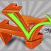 """Letra """"L"""" en graffiti 3d"""