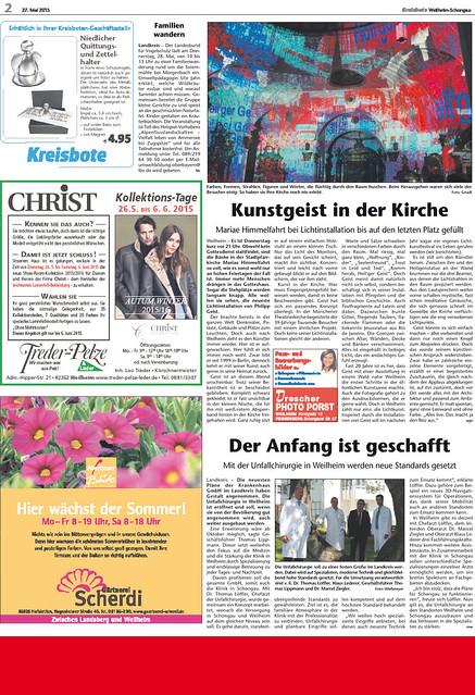 Kreisbote 270515 - Nachbericht