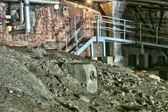 wall, soil, rubble, demolition,