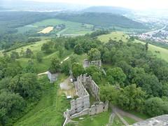 Blick nach unten - Festung Hohentwiel