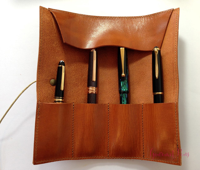 Review Paper Republic Le Porte Crayon Leather Pen Holder (6)
