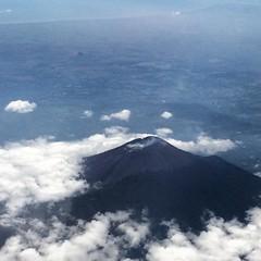 38k feet #volcano #indonesia #instagood #javaisland #airbus