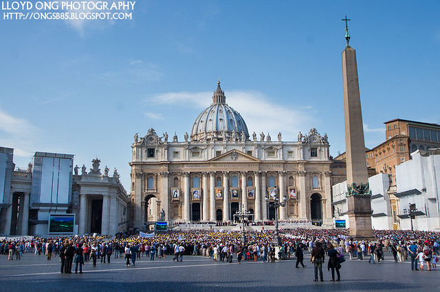 St Peter's Square and Basilica