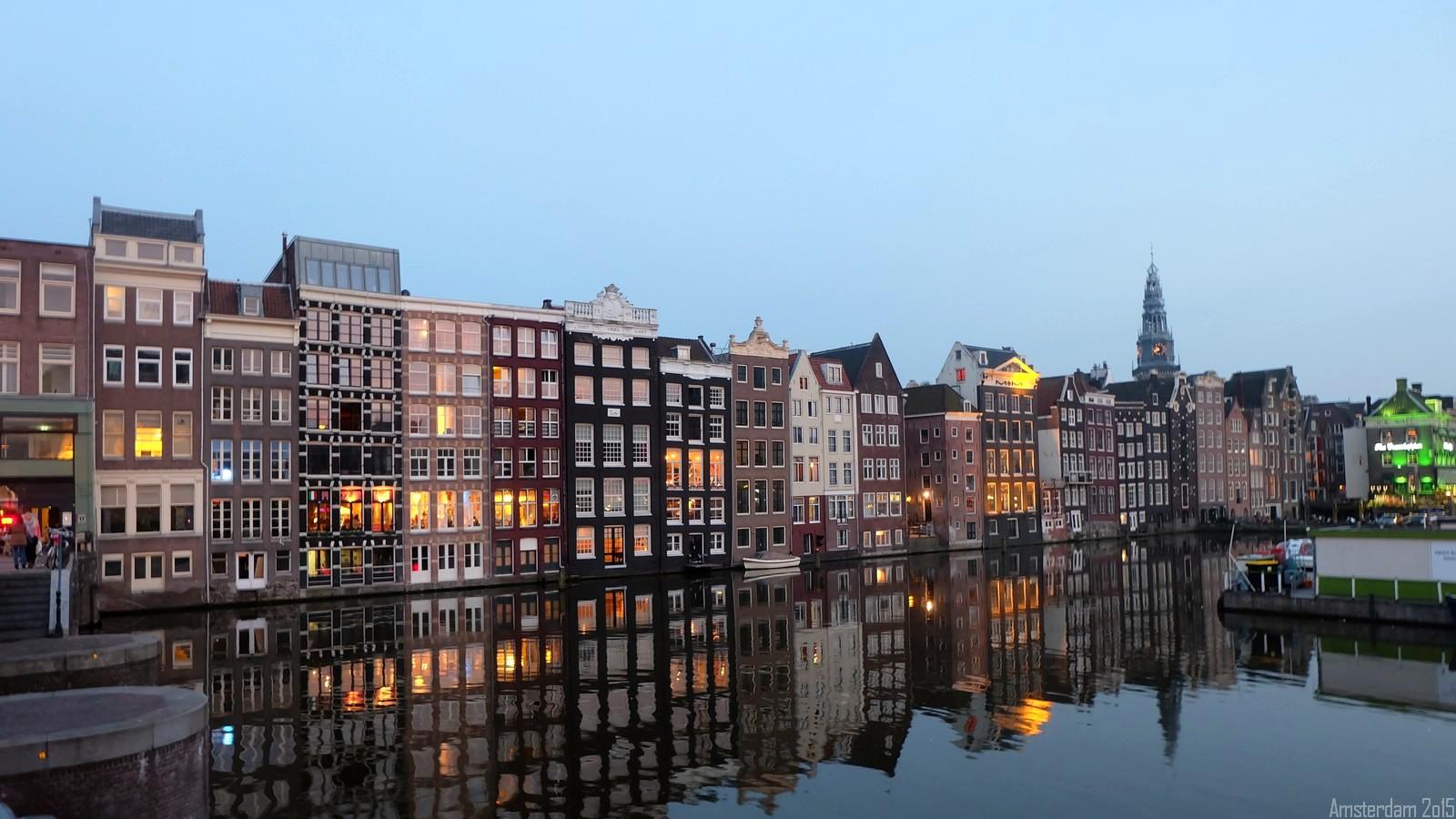 Damrak, Amsterdam, Nederland