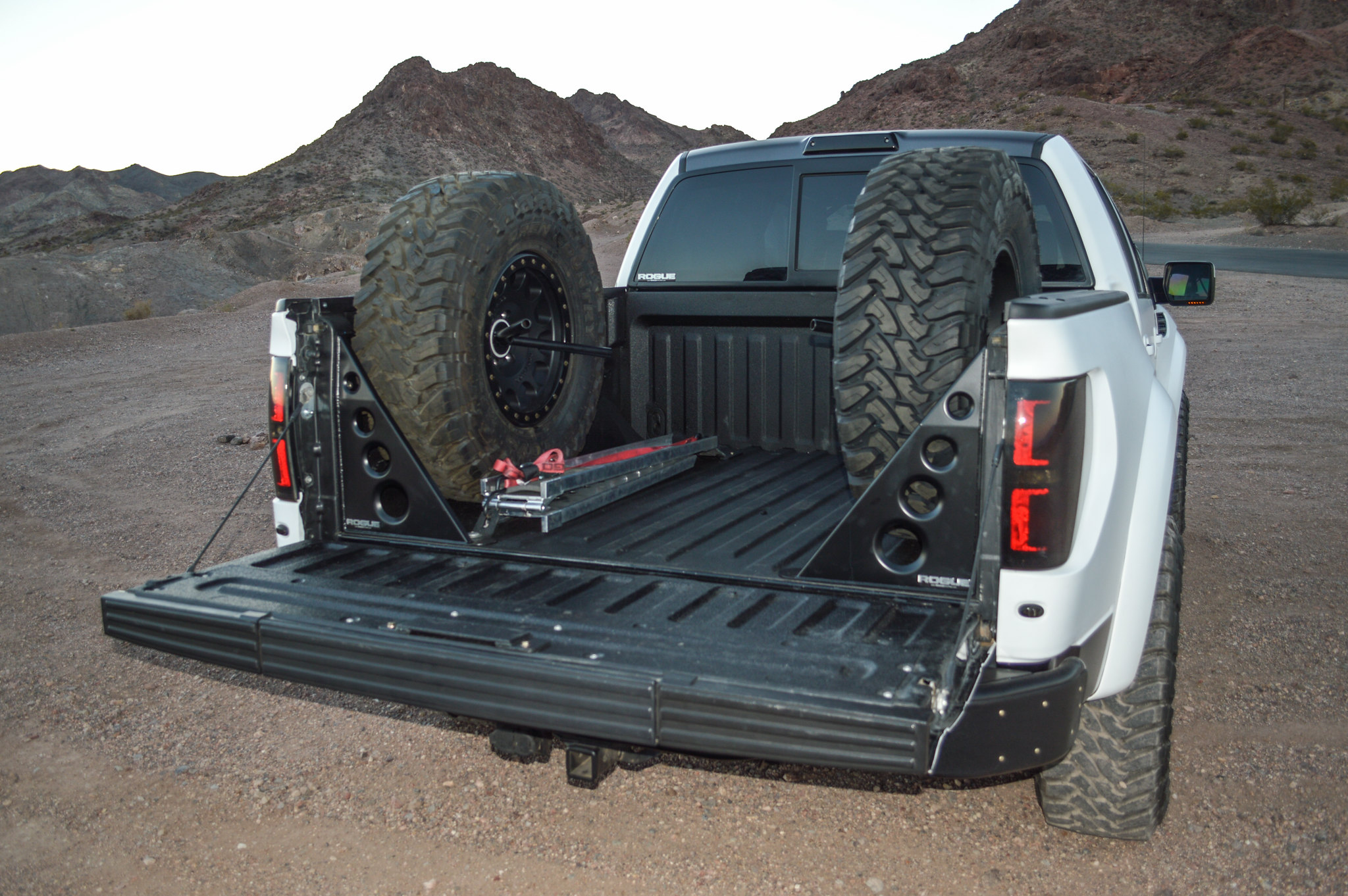 Rogue Racing Spare Tire Carrier And Bed Support Ford