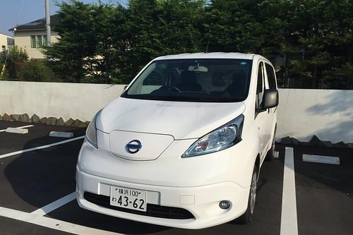 日産の電気商用車「e-NV200」