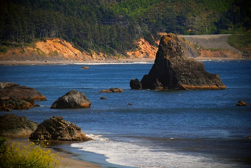 Battle Rock in Port Orford