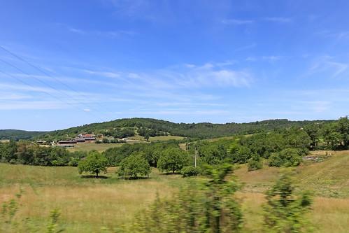 road france grass june rural landscape europe roadtrip dordogne route land chemin 2015 aquitaine meteorry d46 sarlatlacanéda lesfarges alpc aquitainelimousinpoitoucharentes