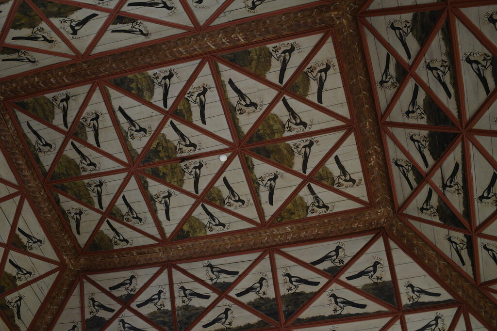 Magpie Room, Palacio Nacional de Sintra, Sintra National Palace, Portugal