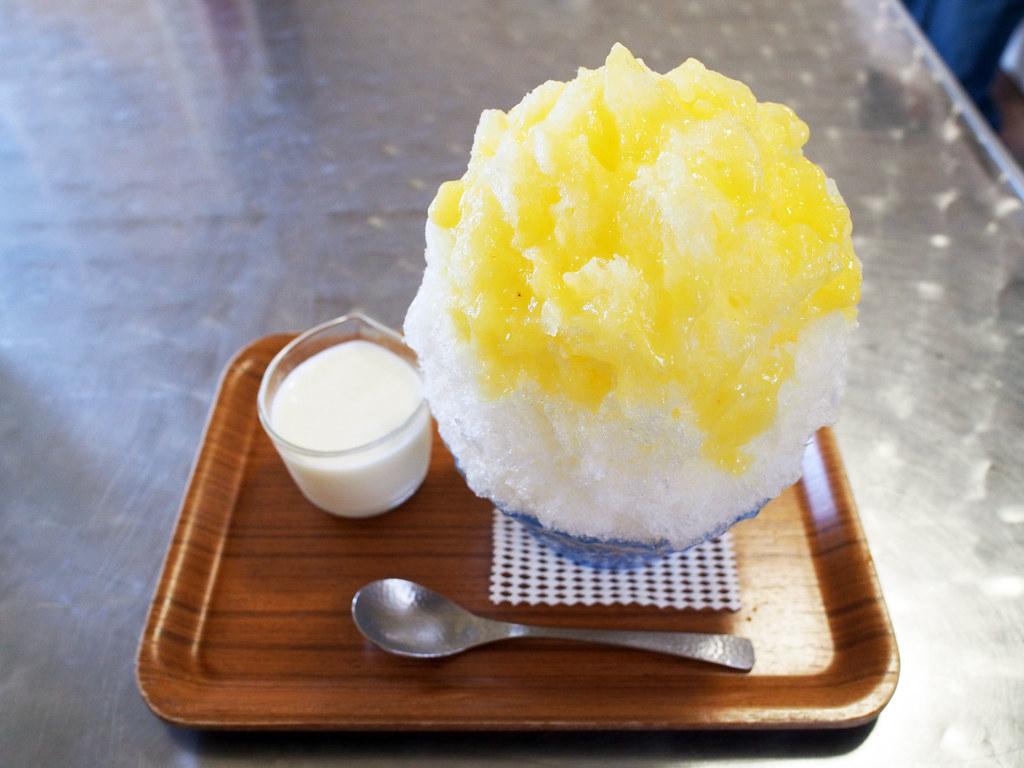 Japanese Ice Shaved - Pineapple & Yogurt Condensed Milk