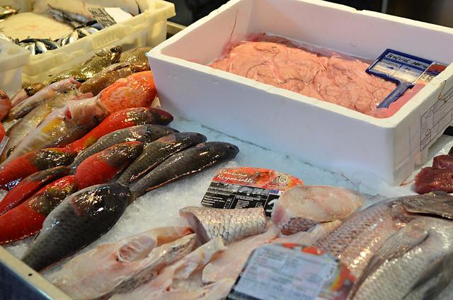 Fish stall, Puerto de la Cruz, Tenerife