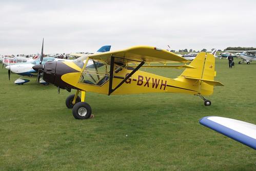 G-BXWH Denny Kitfox 4 Sywell 030911