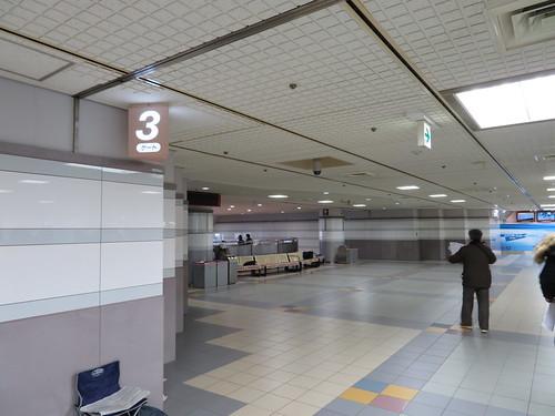 中山競馬場の2階3ゲート