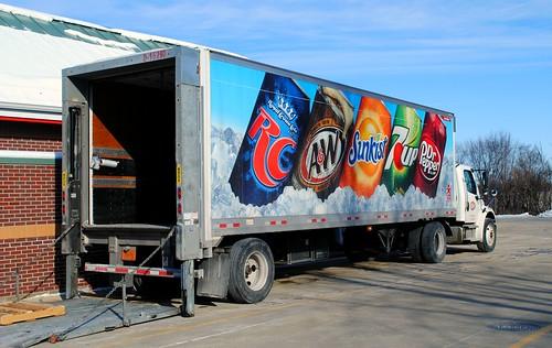 Soda Pop Delivery, Burlington Wisconsin