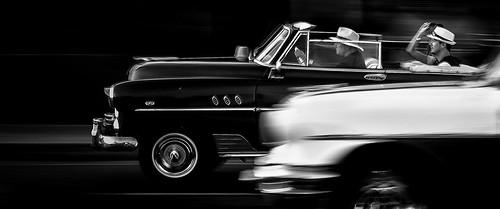 Cuba Car Race by Darrell Paul