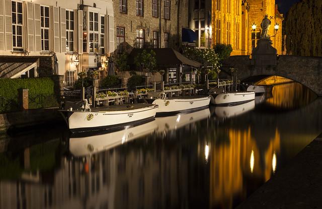 Bruges Canals Explored 18/1/2017