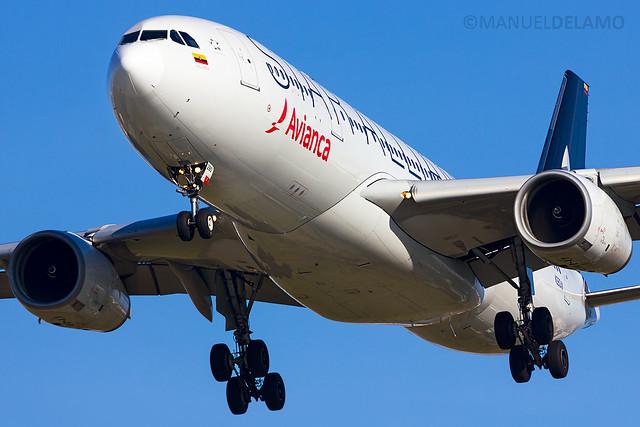 N280AV / Avianca / Airbus A330-243 / Barcelona (BCN/LEBL) / 24-12-2016