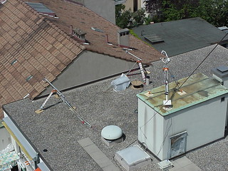 Rooftop instrumentation during Basel Urban Boundary Layer Experiment