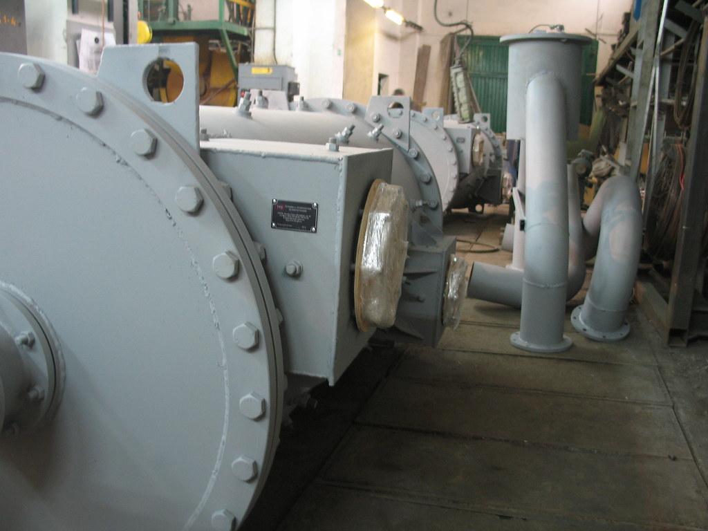 Два дезинтегратора (центробежных скруббера), готовые к отгрузке