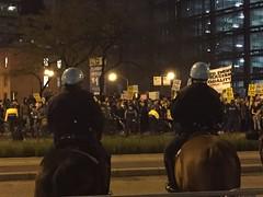 Trump Protest post-election no. 1