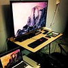 #workstation #macbook #hdtv #ipad #iphone #iOSdeveloper