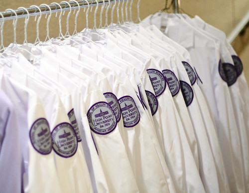 Inaugural Physician Assistant White Coat Ceremony by HIGH POINT UNIVERSITY