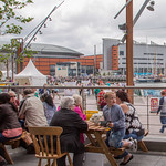 The DOCK Cafe during Tall Ships Belfast 2015