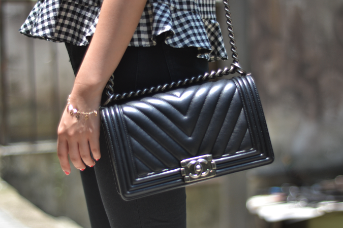 Daisybutter - Hong Kong Lifestyle and Fashion Blog: Chanel Boy Bag in chevron calfskin leather