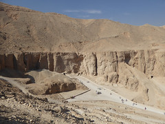 Walk from the Valley of the Kings to Deir el Medina
