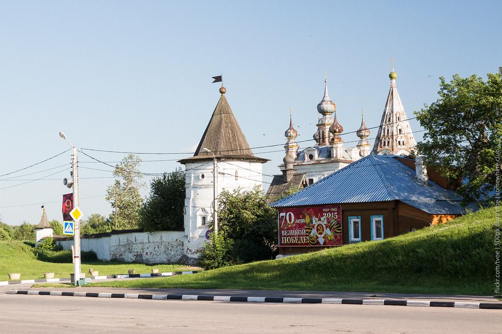 Михайло-Ахангельский монастырь в Юрьеве-Польском