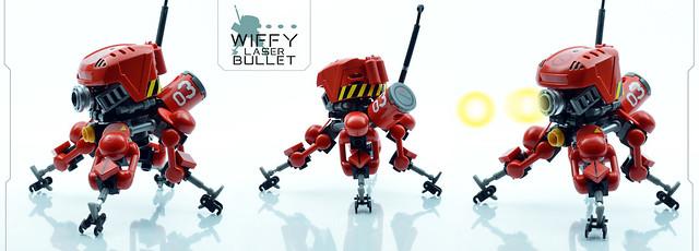 WIFFY laser bullet