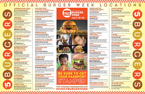 #CincinnatiBurgerWeek... The Burgers