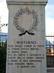 Minturno - War Memorial