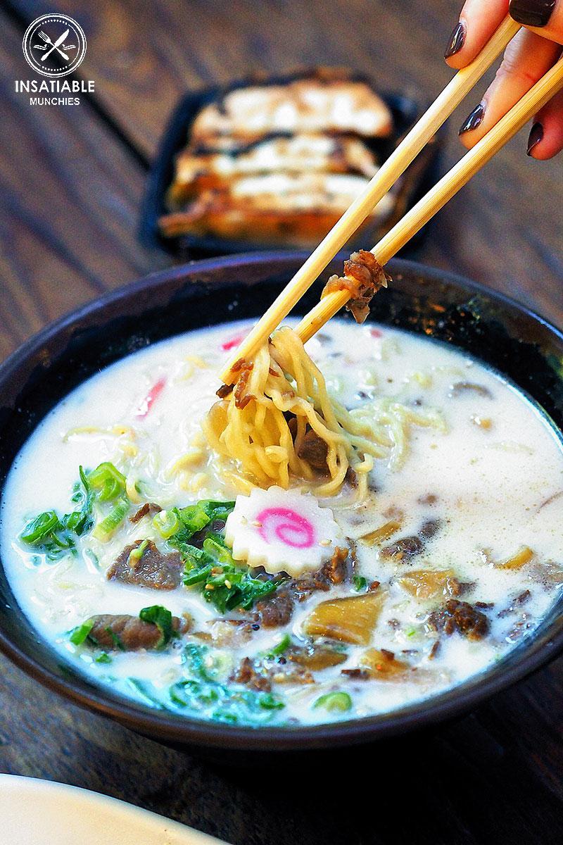 Sydney Food Blog Review of Tenkomori, Sydney CBD: Tonkotsu Beef Ramen