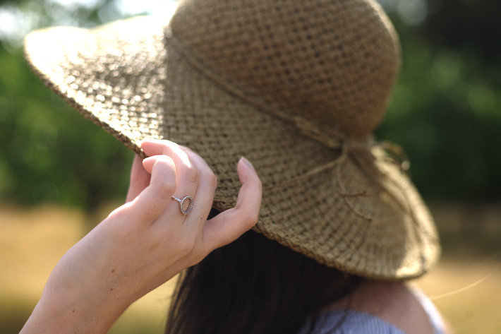 straw hat, diamanti per tutti ring